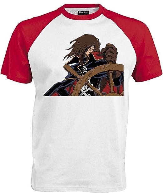 Harlock Shirt Maglietta Animati Capitan T Arcadia Cartoons Cartoni drthsQCxB