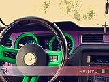 Rvinyl Rdash Dash Kit Decal Trim for Ford Mustang