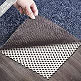 Wosite Non-Slip Area Rug Pad Gripper 5 x 7 Ft Extra Thick Pad for Any Hard Surface Floors, Keep Your Rugs Safe and in Place