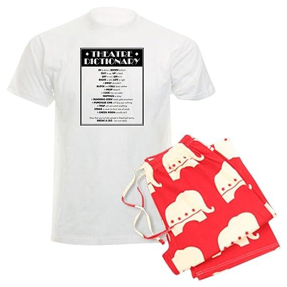 bfb2409977 Amazon.com  CafePress - Theatre Dictionary - Unisex Novelty Cotton Pajama  Set