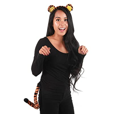 Elope Winnie the Pooh Tigger Ears Costume Headband and Tail Set: Toys & Games