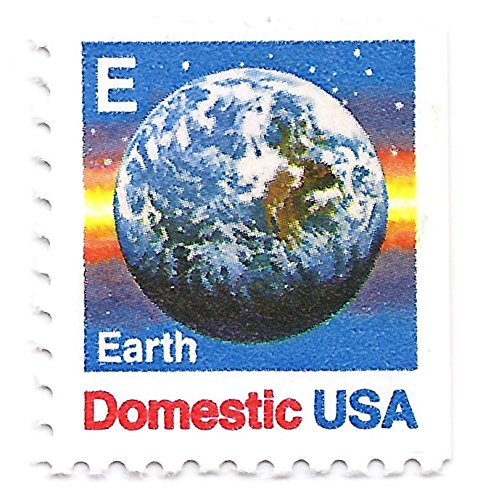 Earth Postage - USA 1988 Postage Stamp Earth E-Rate Issue Single From Booklet 25 Cents Scott #2282