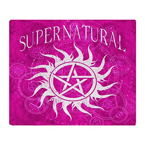 CafePress Supernatural Blanket Fleece Stadium