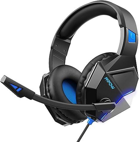 Amazon.com: Mpow EG10 - Auriculares de diadema para PS4 ...