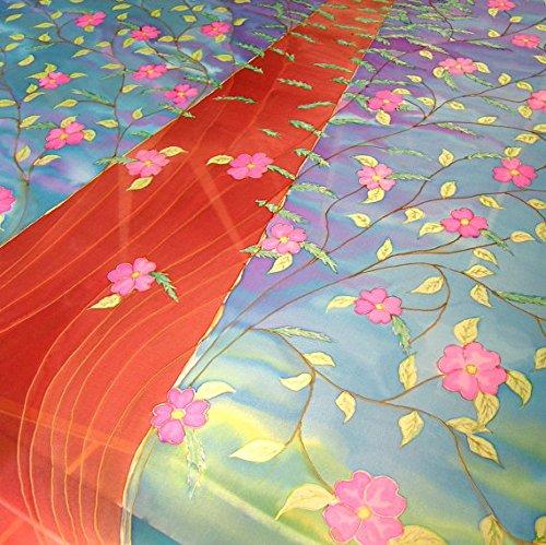 Jewish Wedding Canopy - CUSTOM Hand Painted Silk Wedding Chuppah Wedding Canopy Jewish Ceremony Made To Order