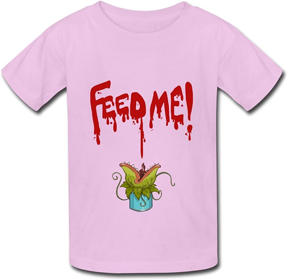 TBTJ Little Shop Of Horrors Feed Me T Shirts For Boys And Girls 6-24 Months