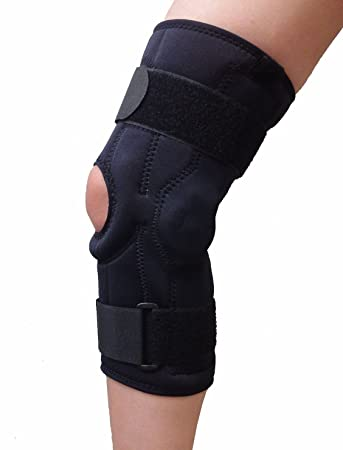 5df08fbb30 Image Unavailable. Image not available for. Color: Bariatric Plus Size Open  Patella Knee Brace ...