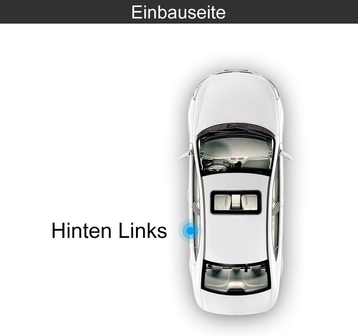 Fensterheber Elektrisch Ohne Motor Hinten Links f/ür Polo 6R 6C 4//5 T/ürer Bj.2009//06-2018//12