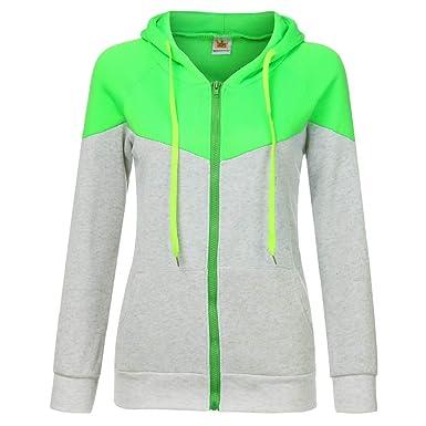 en soldes f5991 a7ed2 FNKDOR Sweats à Capuche Femme Sweat-Shirts en Molleton à ...