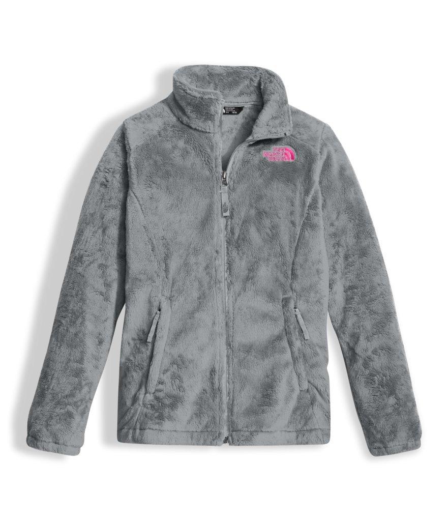 The North Face Girl's Osolita Jacket - Metallic Silver - L (Past Season)