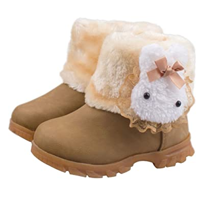 Amazon.com | Taiycyxgan Baby Girls Toddler Infant Rabbit Snow ...