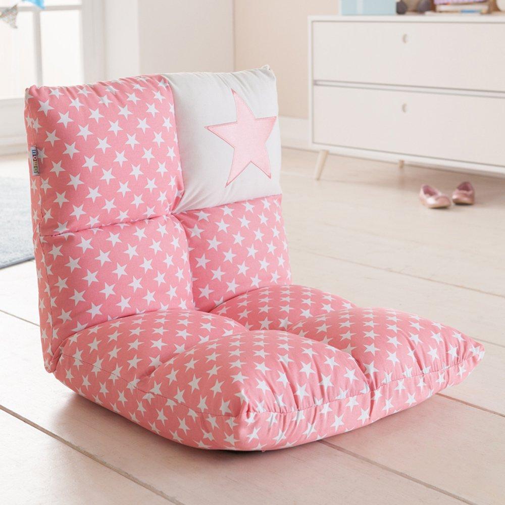 howa 2 in 1 poltrona + divano per bambini – schienale regolabile in 6 posizioni - rosa 8601 howa Spielwaren GmbH