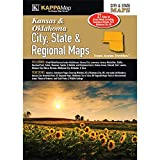 Kansas & Oklahoma City, State, & Regional Maps