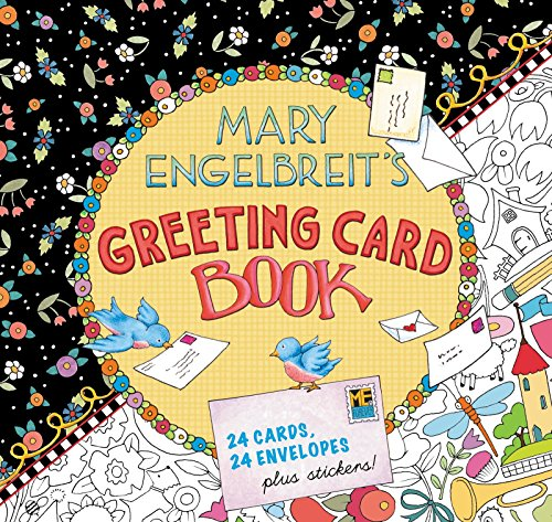 Mary Engelbreits Greeting Card Book: 24 Cards, 24 Envelopes, Plus Stickers!