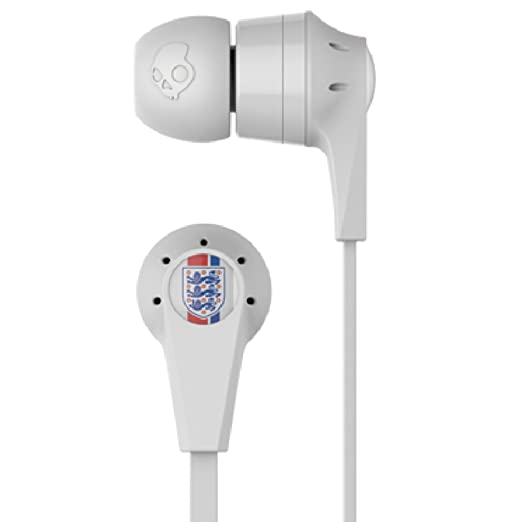 227 opinioni per Skullcandy Ink'd 2.0 Auricolari In-Ear con Microfono, England World Cup