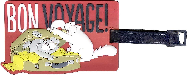 Simon's Cat - Gepäckanhänger Bon Voyage