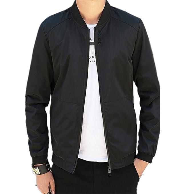 Amazon.com: Chaqueta de béisbol para hombre con chaqueta de ...