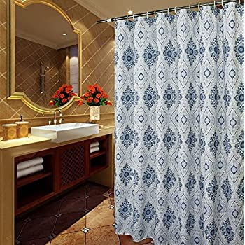 Amazon.com: Shower Curtain Extra Long 72 x 96 inches, Welwo X-Long ...