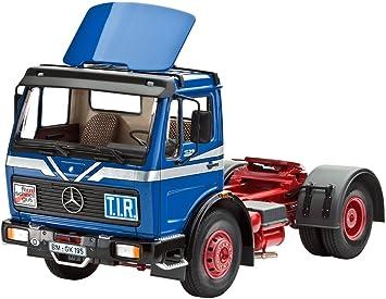 Revell Camión Mercedes-Benz 1628 con Spoiler: Amazon.es ...