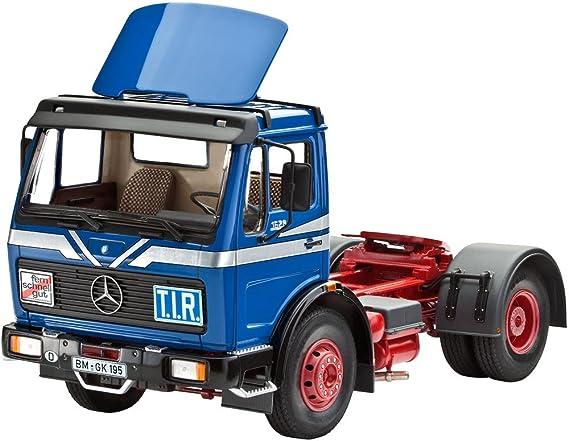 Revell Camión Mercedes-Benz 1628 con Spoiler: Amazon.es: Juguetes y juegos