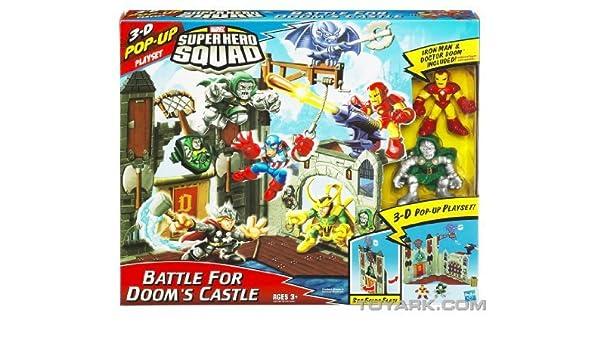 Marvel Super Hero Squad Mini Playset - Doom Castle with Dr. Doom ...