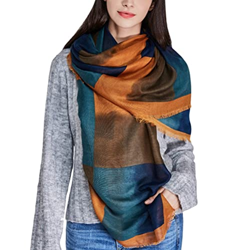 Zhhlaixing estilo de la moda Special Lattice Pattern Color Scarfs Autumn Winter Warm Scarves Women W...