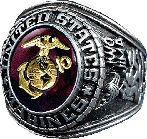 MilitaryBest U.S. Marine Corps Ring - Style No. 15