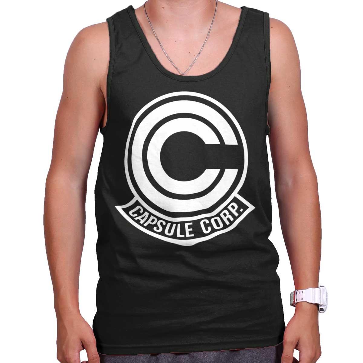 Capsule Corp Dragon Shirt | Ball Goku Z Bulma Anime Gift Idea Tank Top Shirt