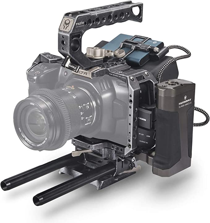 TILTA TA-T01-A Cage Compatible with BMPCC 4K: Amazon.co.uk: Camera & Photo