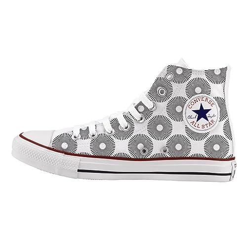 Impresos De Artesanía Personalizados Circles Converse E Zapatos dxoeBrC