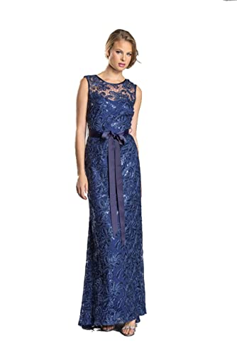 Womens Ladies Fashion Mother of Bride Formal Evening Long Lace Wedding Dress