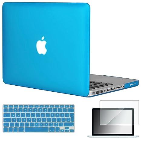 Topideal 3 in1 Carcasa mate para MacBook Pro de 13 pulgadas 13.3