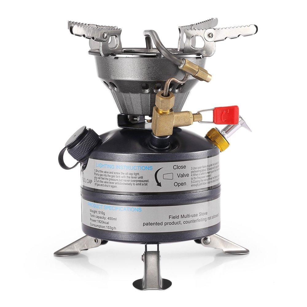 Field Folding Stove for Camping and Hiking Strider Emergency Stove with 24/Dry Fuel Pellets