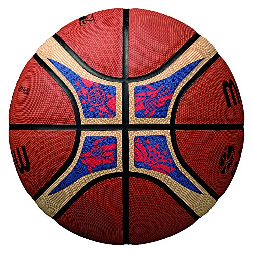 Molten FIBA World Cup Basketball, Orange/Tan, Official Size 7