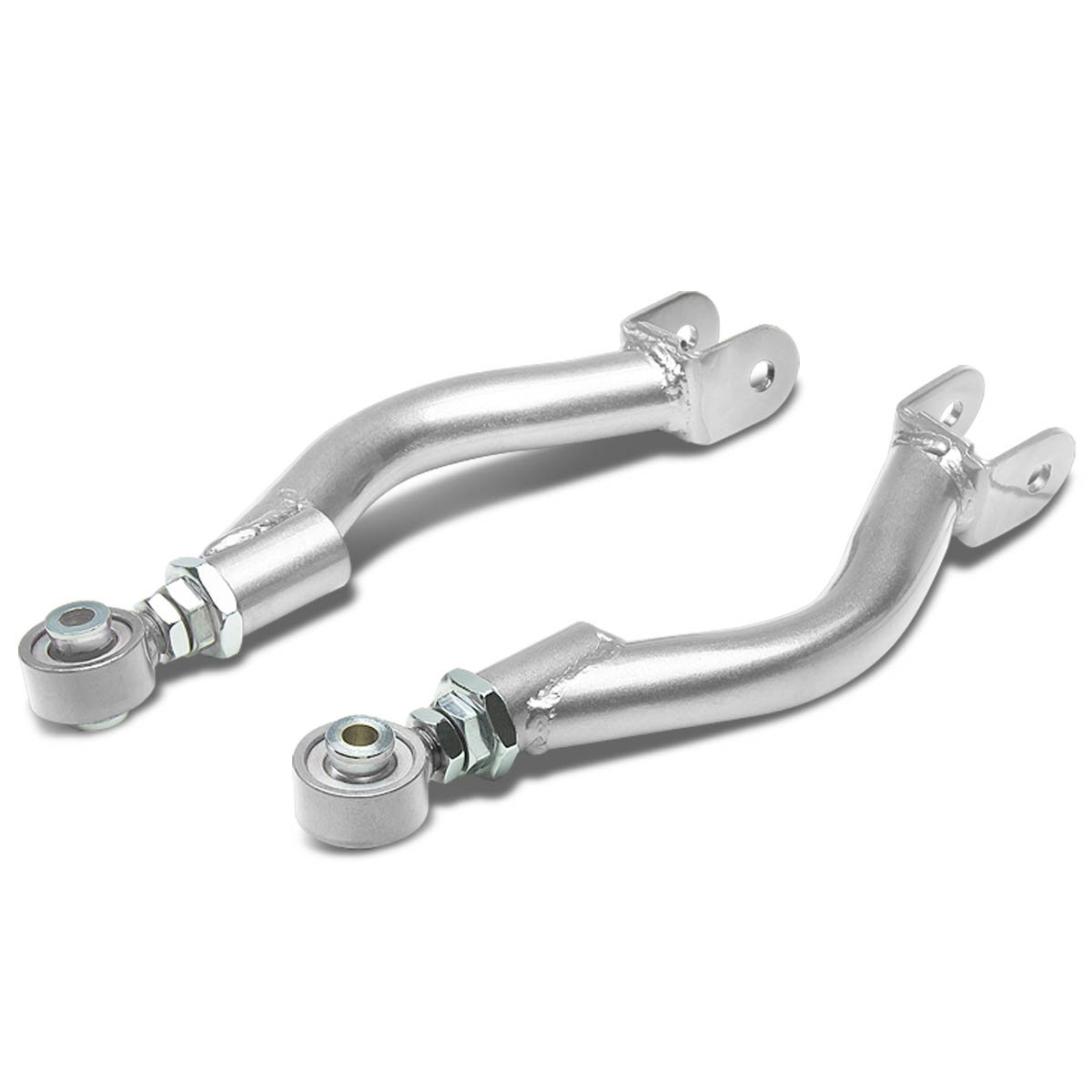 Silver R33 R34 For Nissan 240SX Silvia S14 S15 GT-R Rear Upper Camber Kit Set