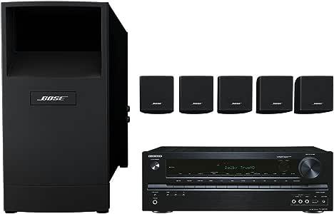 Bose Acoustimass 6 - Equipo de altavoces con amplificador