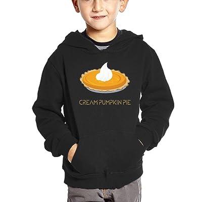 Cream Pumpkin Pie Baby Girl Boy With Pockets Hoodies Autumn Winter Sweatshirt
