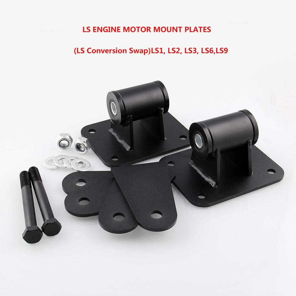 LS Conversion Swap LS2 LS3 EDTara LS Engine Motor Mounts LS6 for LS1