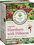 Best Traditional Medicinals Tea Cups - Traditional Medicinals Organic Hawthorn with Hibiscus Tea, 16 Review