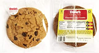 product image for Davids Gluten Free Thaw N Sell Oatmeal Raisin Cookie Individually Wrapped, 3 Ounce -- 24 per case.
