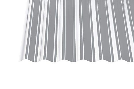 Acryl Wellplatten Profilplatten Trapez 76//18 klar ohne Struktur 1,5 mm 2000 x 1045 x 1,5 mm