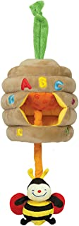 Melissa & Doug K's Kids Musical Pull Beehive - Crinkling, Soft-to-Touch Crib Toy