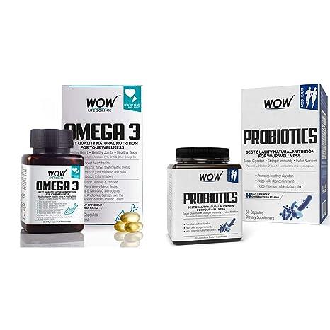 Buy WOW Omega-3 Fish Oil Triple Strength 1000mg (550mg EPA, 350mg