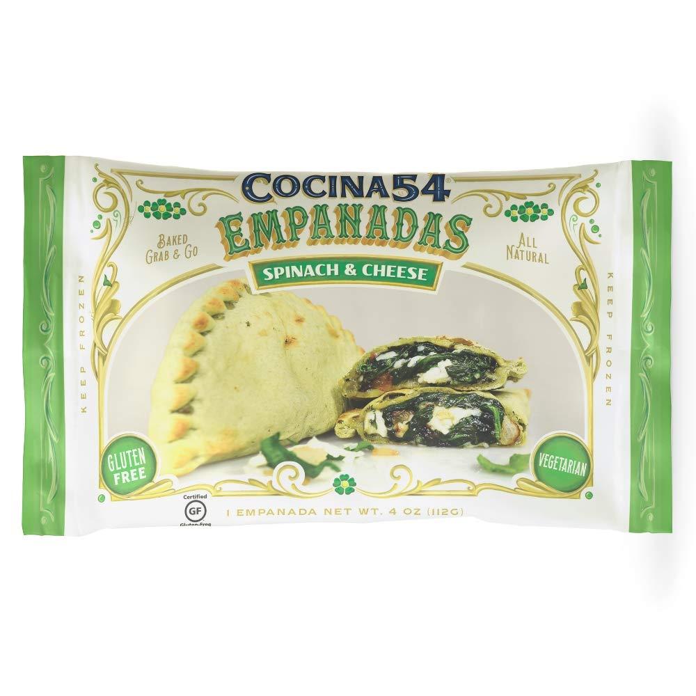 Cocina 54 Spinach & Cheese Empanada, 4oz, 20 Pack