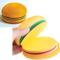 Oytra Burger Notes Memo Pad Quirky Gift for Food Lovers