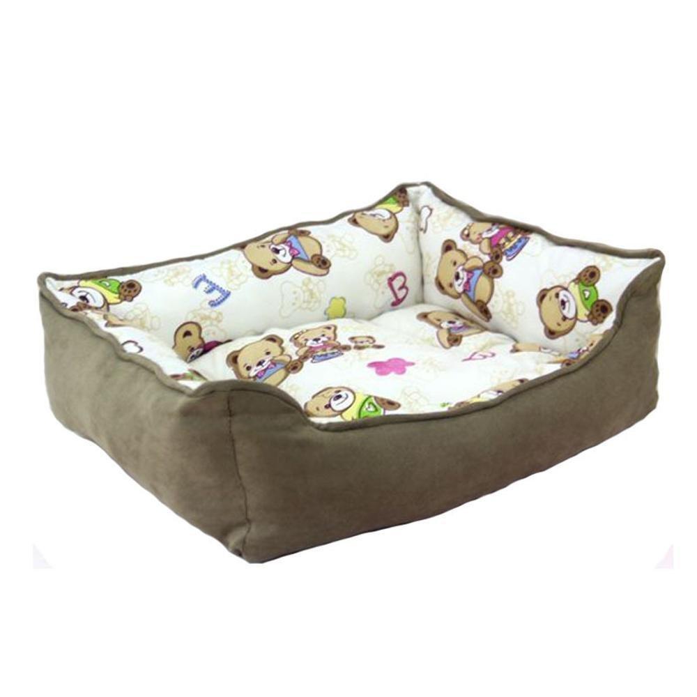 A 4030cm A 4030cm YunYilian Pet Bolster Dog Bed Comfort Comfort Kennel Pet nest (color   A, Size   40  30cm)