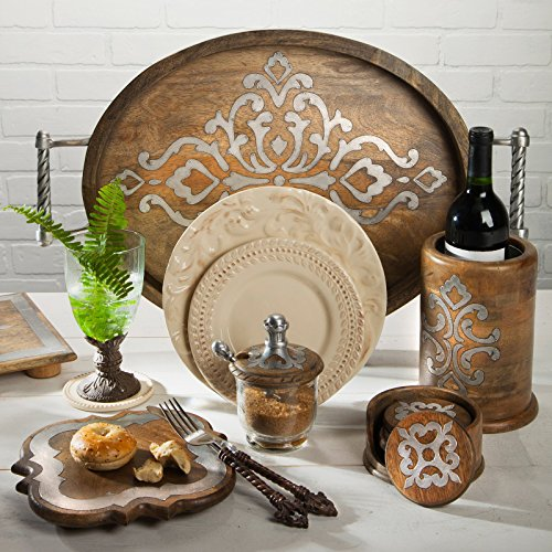 Wood Lazy Susan by GG Collection (Image #1)