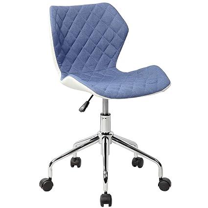 Techni Mobili RTA 3236 BL Office Task Chair, Blue