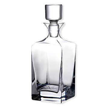 Bruno Evrard - Botella para whisky Highlands, material:vidrio soplado, color:transparente