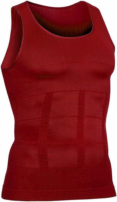 1f93afaca51059 Amazon.com  Hoter Mens Body Shaper Slimming Vest